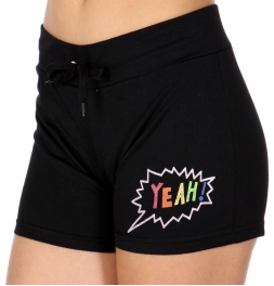 Wholesale O45A YEAH! active shorts Black