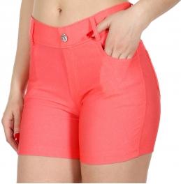 Wholesale C49 Solid color shorts Coral