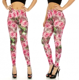 wholesale A00 Rosegarden cotton leggings FS