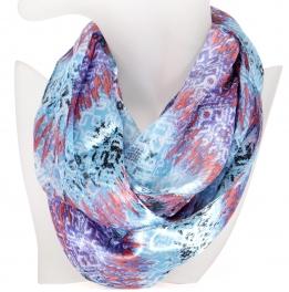 Wholesale K78 Ikat pattern infinity scarf TU