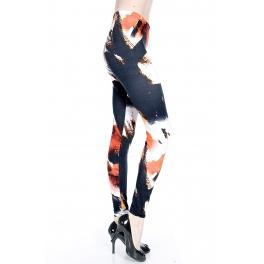 wholesale A11 80's inspired Printed leggings fashionunic