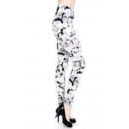 wholesale A28 Shadow Faces leggings fashionunic
