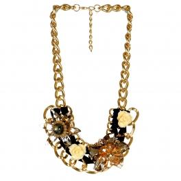 wholesale N45 Pearl w/chain necklace GBK fashionunic