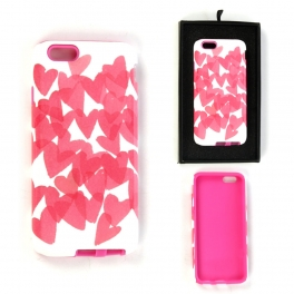 wholesale N38 Iphone 6 case hearts Pink fashionunic