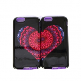 wholesale N38 Iphone 6 case large heart Multi
