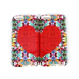 wholesale N38 Iphone 6 case geometric heart Multi