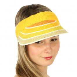 wholesale V68 Multicolored paper visor Orange