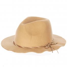 Wholesale V52 Poly Felt studded suede hat CA