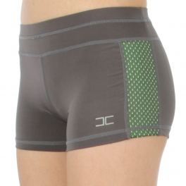 Wholesale WA00 Neon meshed sides active shorts N.Green