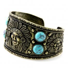 Wholesale L28E Native american metal cuff GBTQ