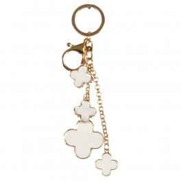 wholesale Rounded metal keychain fashionunic