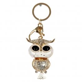 wholesale Studded owl keychain fashionunic