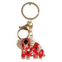 wholesale Studded elephants keychain RDGD fashionunic