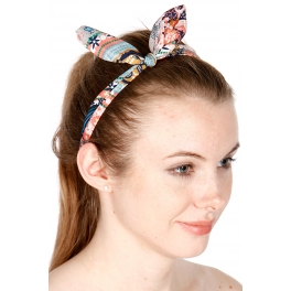 wholesale Flower knot headband set 3 pcs Multi 1015