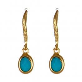 Wholesale M08D Stone drop earrings G