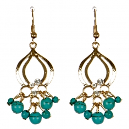 Wholesale M08E Multi charm earrings G