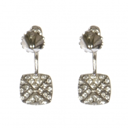 Wholesale L30C Cone front and back earrings RHCL