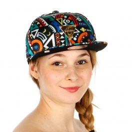 Wholesale S53A Tribal Design Hater Hat MLT