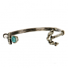 Wholesale M11C Faux Stone Anchor Arrow Bracelet SB