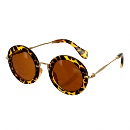 Wholesale M09A Round frame sunglasses Dozen
