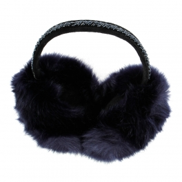 Wholesale  Fur Earmuff With Beads BL