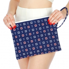 Wholesale N01E Sailor Pattern Water Proof Bikini Bag