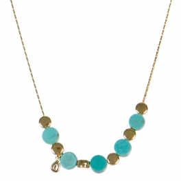 Wholesale M06A Stone Beads Necklace GD