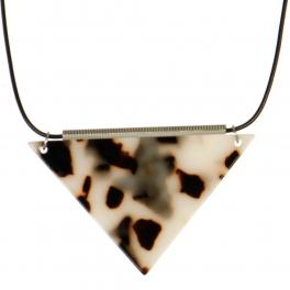 Wholesale M06A Triangle Pendant Necklace SV