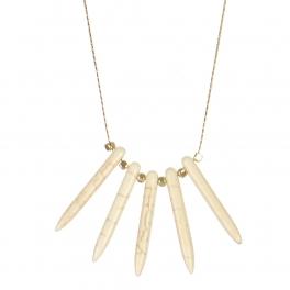 Wholesale M06A Faux Stone Matchstick Necklace GIV