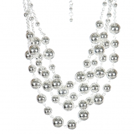 Wholesale M17D Ball Chain Necklace Set S