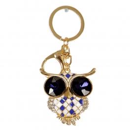 Wholesale M10B Big Stone Eyes Owl Keychain GD