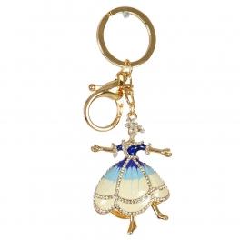 Wholesale M02E Dancing Lady Keychain GD