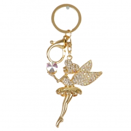 Wholesale L36C Studded Tinker bell Keychain GD
