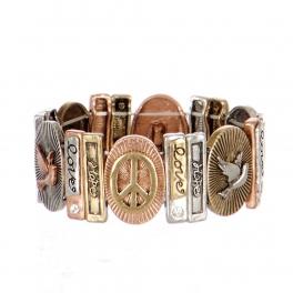 Wholesale L21A Love Hope Peach Bracelet MTB