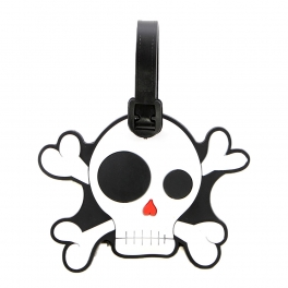 Wholesale L08A Skull Luggage Tag