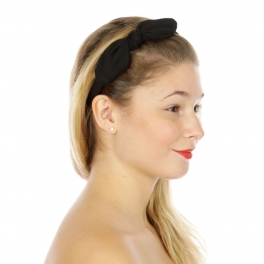 Wholesale L23A Lovely bow headband Black