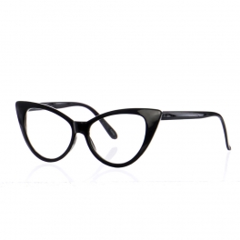 Wholesale M19D Clear Cat Eye Glasses Assorted Dozen