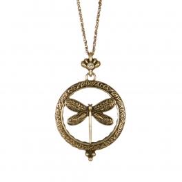 Wholesale L01C Dragonfly pendant necklace GB