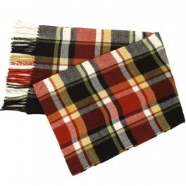 Wholesale O58D Plaid cashmere feel scarf #01