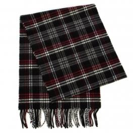 Wholesale P32A Plaid cashmere feel scarf BL/RD