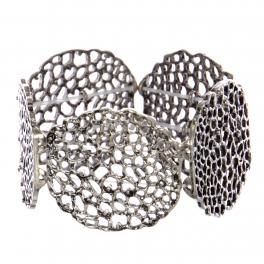 Wholesale WA00 Abstract holes cutout stretchable bracelet SB