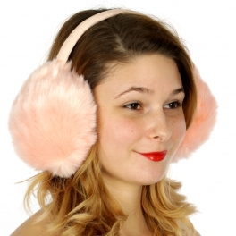 Wholesale P21C Faux fur earmuffs PK