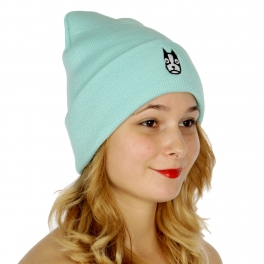 Wholesale P27A Cute dog embroidered beanie MT