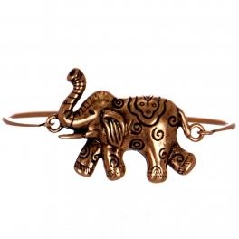 Wholesale WA00 Elephant clasp bangle bracelet CB