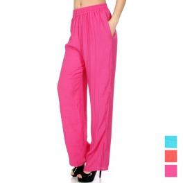 Wholesale M29B Solid comfort pants w/ pockets