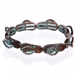 Wholesale WA00 flip-flop w/ bead for Bracelet OG