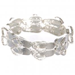 Wholesale WA00 flip-flop pair w/ bead for Bracelet SV