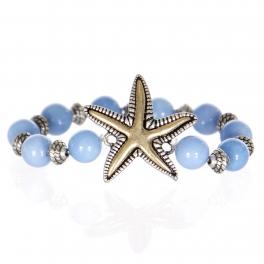 Wholesale WA00 Dancing starfish w/ stone bracelet SB
