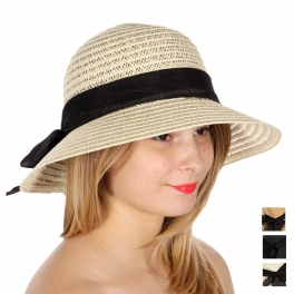 wholesale W01 Ribbon band floppy hat