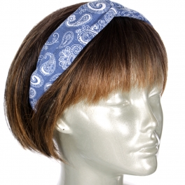Wholesale M04D Double side headband blue color Dozen